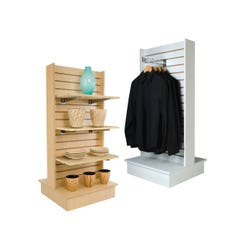 2-Way Slatwall Merchandiser