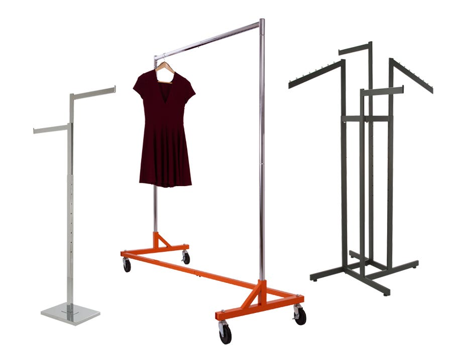 Retail Garment Display Racks