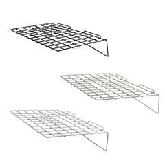 """23-3/8""""W x 14""""L Straight Wire Shelf for Slatwall"""